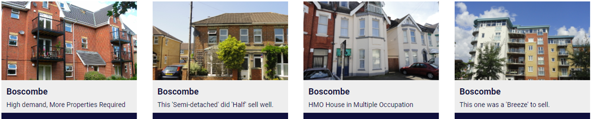 Boscombe Estate Agents, SOLD